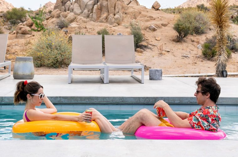 Cristin Milioti and Andy Samberg in PALM SPRINGS (2020)
