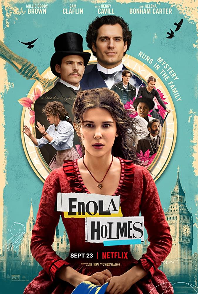 ENOLA HOLMES (2020) poster