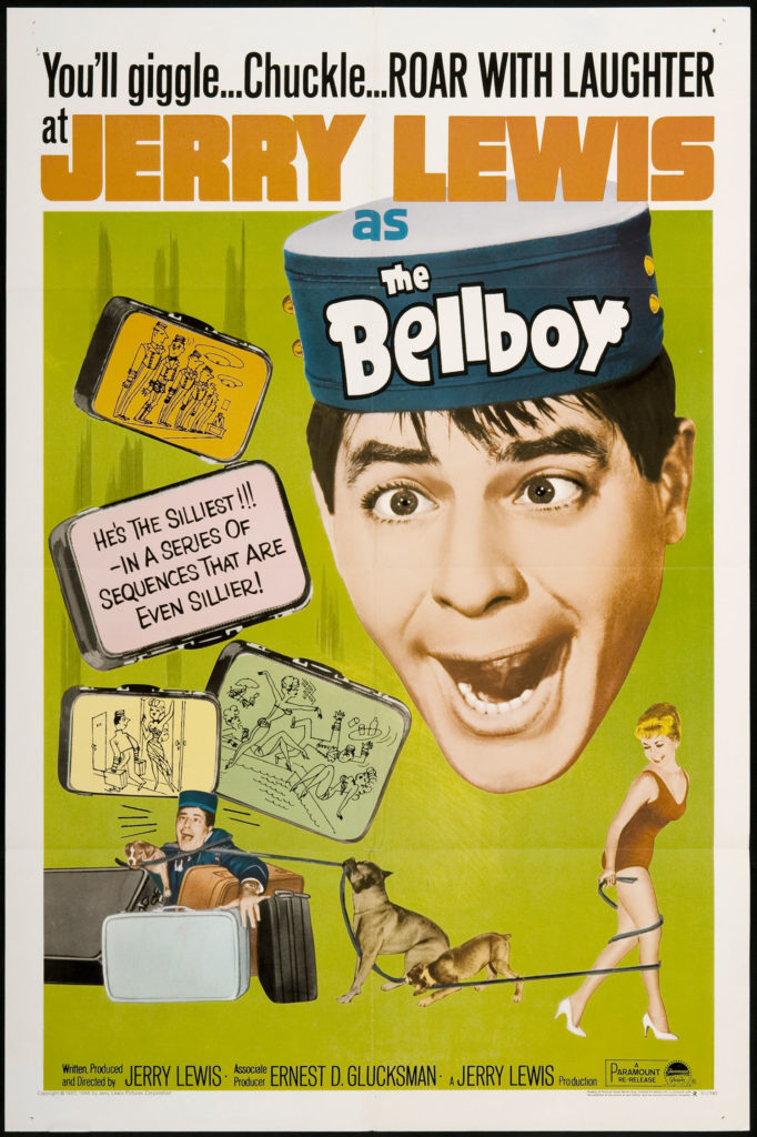 Poster for THE BELLBOY (1960)