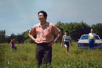Alan S. Kim, Steven Yeun, Noel Cho, and Yeri Han in MINARI (2020)