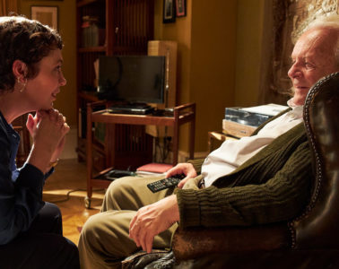 Olivia Colman and Anthony Hopkins in THE FATHER (2020)