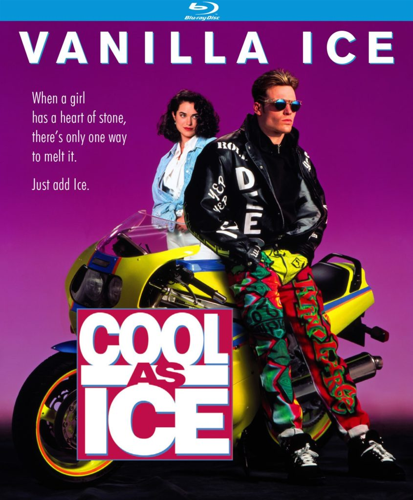 COOL AS ICE (1991) Blu-Ray Cover