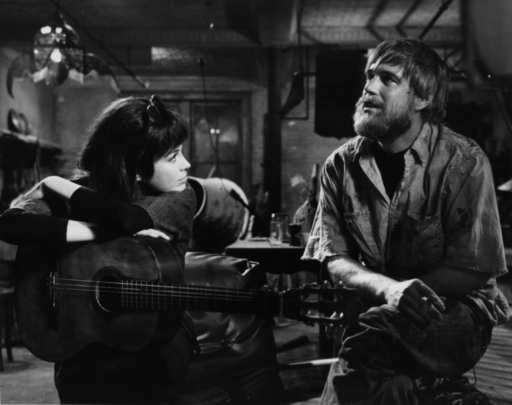 Mary Tyler Moore and George Peppard in WHAT'S SO BAD ABOUT FEELING GOOD? (1968)
