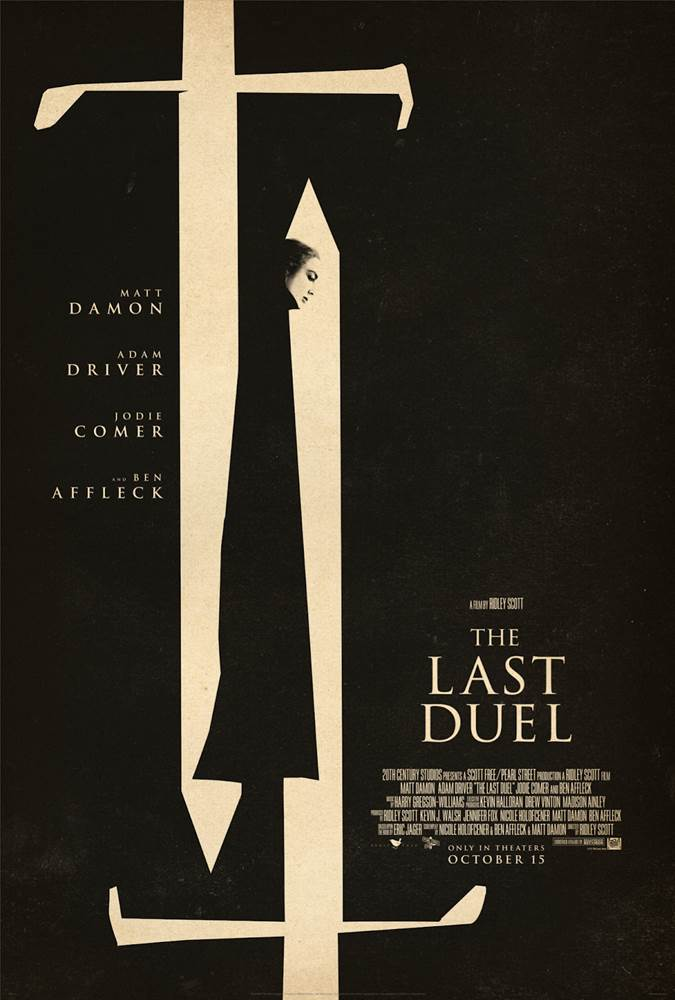 THE LAST DUEL (2021) Poster